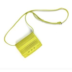 STELLA&DOT Sidekick studded yellow crossbody!NWOT